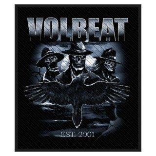 VOLBEAT Outlaw Raven, パッチ
