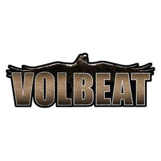 VOLBEAT Raven Logo Cut-Out, パッチ