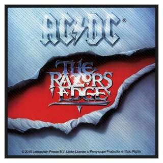 AC/DC The Razors Edge, パッチ