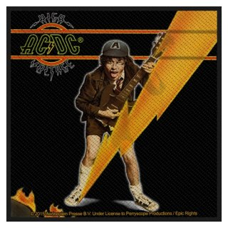 AC/DC High Voltage Album, パッチ