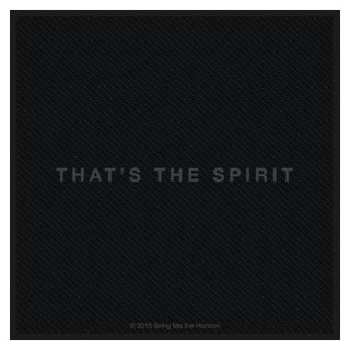 BRING ME THE HORIZON That's The Spirit, パッチ