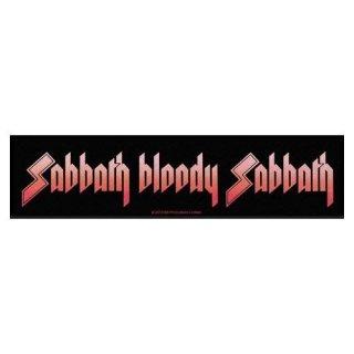 BLACK SABBATH Sabbath Bloody Sabbath, ストライプパッチ