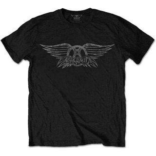 AEROSMITH Vintage Logo, Tシャツ