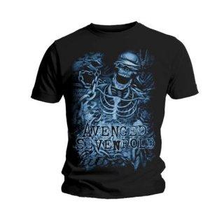 AVENGED SEVENFOLD Chained Skeleton, Tシャツ