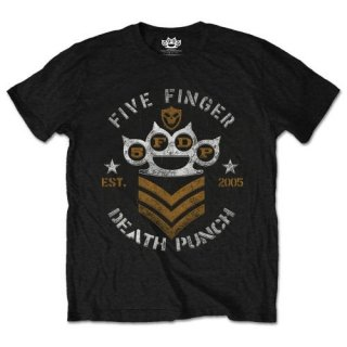 FIVE FINGER DEATH PUNCH Chevron, Tシャツ