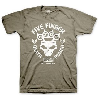 FIVE FINGER DEATH PUNCH Knucklehead, Tシャツ