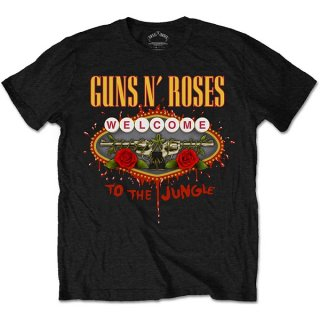 GUNS N' ROSES Welcome to the Jungle, Tシャツ