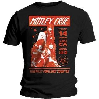 MOTLEY CRUE Whisky A Go Go, Tシャツ