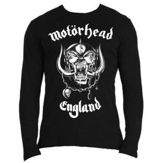 MOTORHEAD England with Back Printing, ロングTシャツ