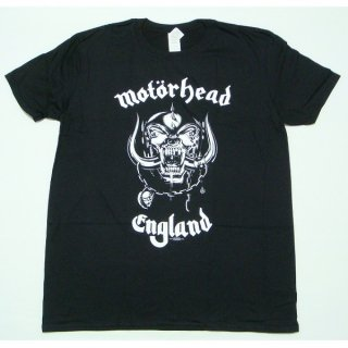 MOTORHEAD England with Back Printing, Tシャツ