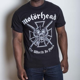 MOTORHEAD Iron Cross with Back Printing, Tシャツ