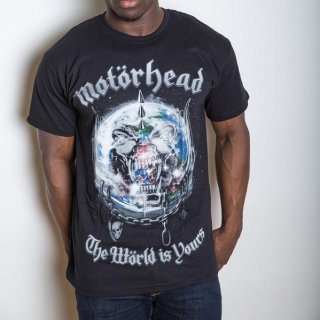 MOTORHEAD The World is your Album, Tシャツ