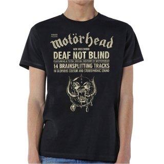 MOTORHEAD Deaf Not Blind, Tシャツ