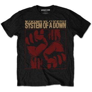 SYSTEM OF A DOWN Fisticuffs, Tシャツ