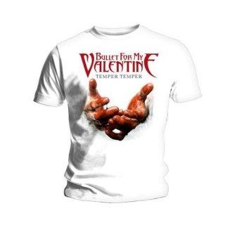 BULLET FOR MY VALENTINE Temper Temper Blood Hands, Tシャツ