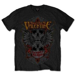 BULLET FOR MY VALENTINE Winged Skull, Tシャツ