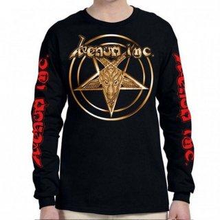 VENOM INC Gold Logo/I Kneel To No God, ロングTシャツ