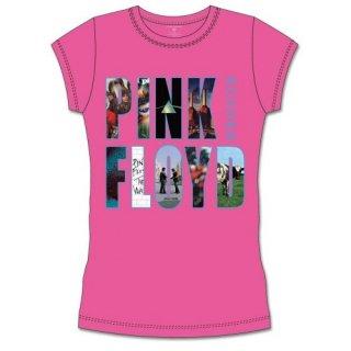 PINK FLOYD Echoes Album Montage, レディースTシャツ