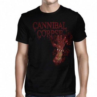 CANNIBAL CORPSE Bloody Hand, Tシャツ