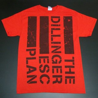 THE DILLINGER ESCAPE PLAN Flag Logo, Tシャツ