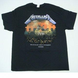 METALLICA Stockholm 86, Tシャツ