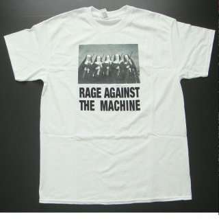 RAGE AGAINST THE MACHINE Nuns And Guns White, Tシャツ