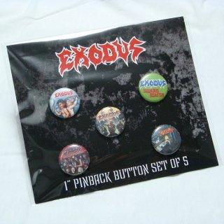 EXODUS Must five, バッジセット