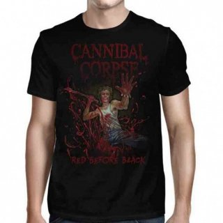 CANNIBAL CORPSE Red Before Black Cover, Tシャツ