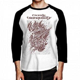 DARK TRANQUILLITY Dragon, ラグラン七分袖シャツ