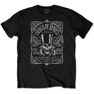 GUNS N' ROSES Bourbon Label, Tシャツ