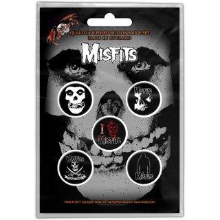 MISFITS Skull, バッジセット
