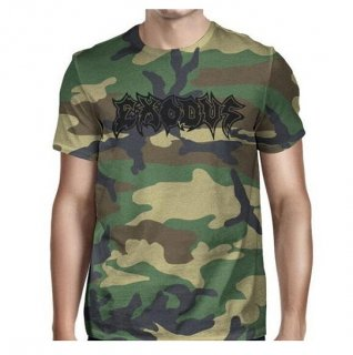 EXODUS Exodus Metal Command Camouflage, Tシャツ