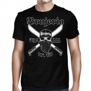 BRUJERIA Calavera Y Machetes, Tシャツ