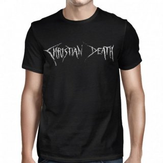 CHRISTIAN DEATH Christian Death Logo And Cross, Tシャツ