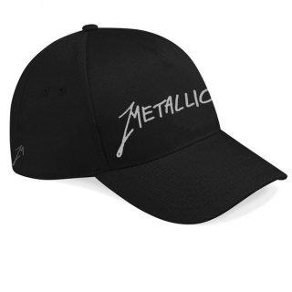 METALLICA Garage Silver Logo, キャップ