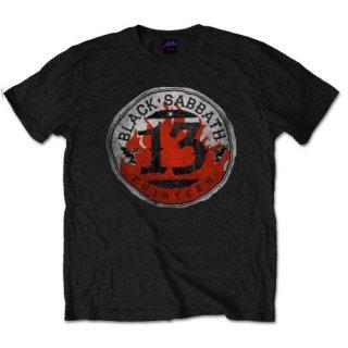 BLACK SABBATH 13 Flame Circle 2, Tシャツ
