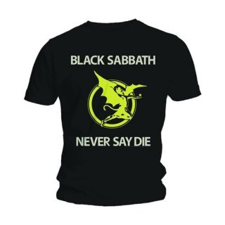 BLACK SABBATH Never Say Die/Ro, Tシャツ