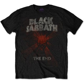 BLACK SABBATH The End Mushroom Cloud/red, Tシャツ