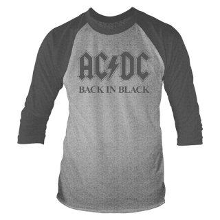 AC/DC Back In Black, ラグラン七分袖シャツ