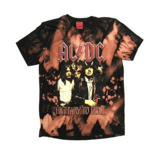 AC/DC Highway To Hell (Bleach) , Tシャツ