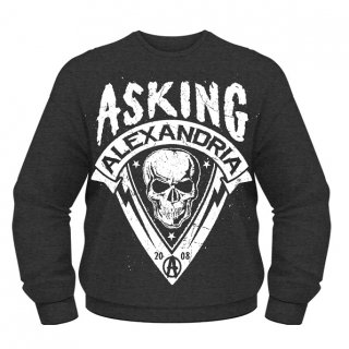 ASKING ALEXANDRIA Skull Shield, スウェットシャツ