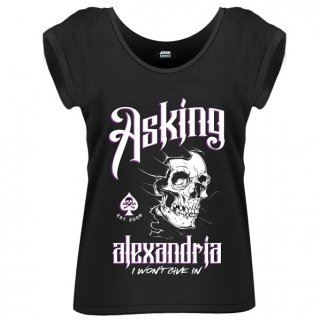 ASKING ALEXANDRIA I Won't Give In, レディースTシャツ
