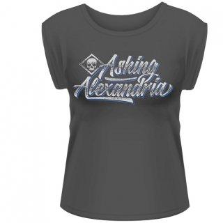 ASKING ALEXANDRIA Script, レディースTシャツ