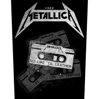 METALLICA No Life 'Til Leather, バックパッチ