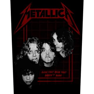 METALLICA Bang That Head, バックパッチ