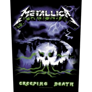 METALLICA Creeping Death, バックパッチ