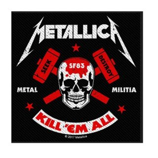 METALLICA Metal Militia, パッチ