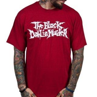 THE BLACK DAHLIA MURDER Classic Logo/Red, Tシャツ