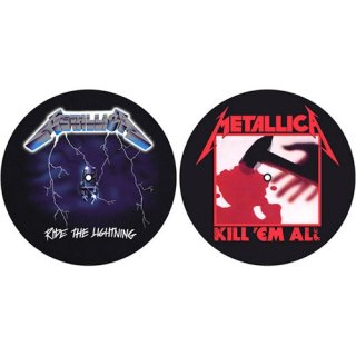 METALLICA Kill 'Em All / Ride The Lightning, スリップマット(2枚入り)