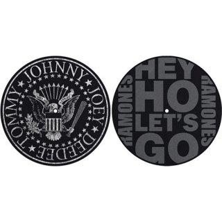 RAMONES Classic Seal / Hey Ho, スリップマット(2枚入り)